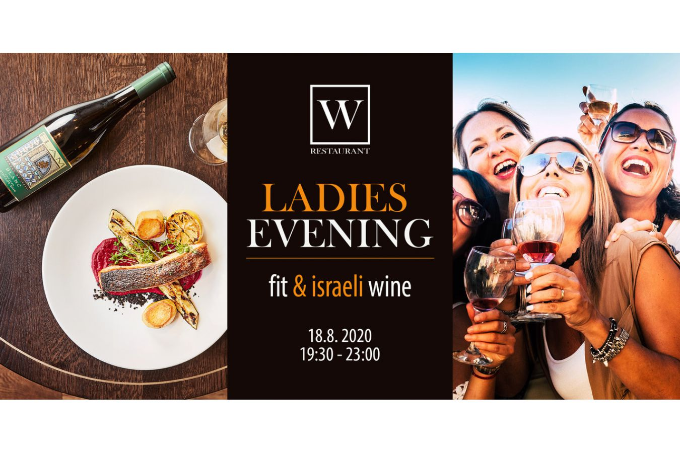 LADIES EVENING - Fit & Israeli Wine